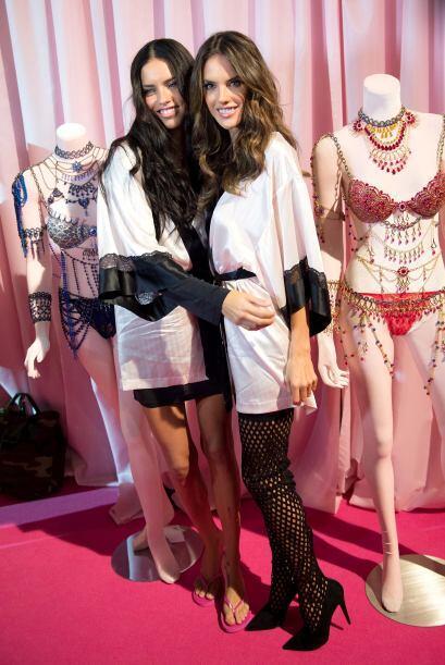 Adriana Lima y Alessandra Ambrosio son dos grandes modelos de Victoria's...
