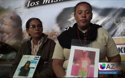 Madres de inmigrantes centroamericanos buscan a sus familiares desaparec...