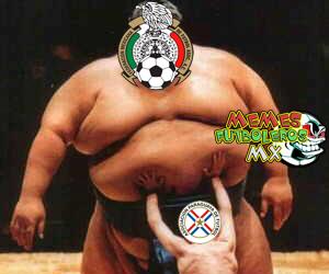 El México vs. Paraguay fue criticado en las redes sociales conpor el poc...
