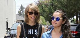 BFFs! Aquí no hay 'Bad Blood'. Taylor Swift y Selena Gomez salieron a co...