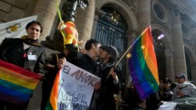 Matrimonio homosexual México. (Imagen de archivo)