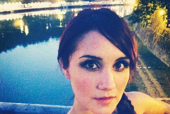 """Otra linda """"selfie"""" en Italia."""
