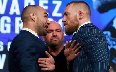 McGregor y Alvarez se verán las caras en UFC 205