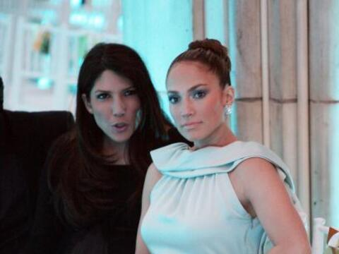 """Lynda y Jennifer López. La """"diva del Bronx"""" ha llevado..."""