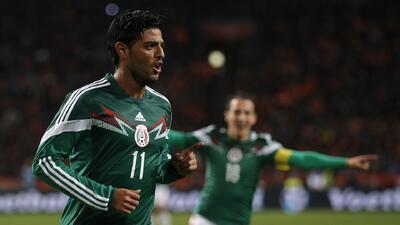 Holanda 2 - México 3: El Tri hace historia en Holanda con un Vela inmenso