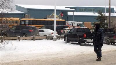 Escuela de Canadá en la que ocurrió el tiroteo este viernes