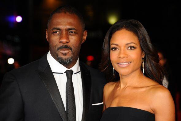 Idris Elba y Naomie Harris, los protagonista de la cinta.