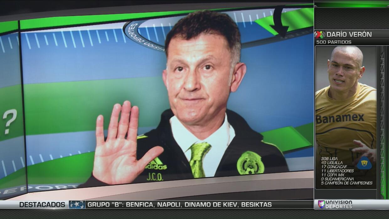 La convocatoria de Osorio desnuda la carencia de delanteros mexicanos