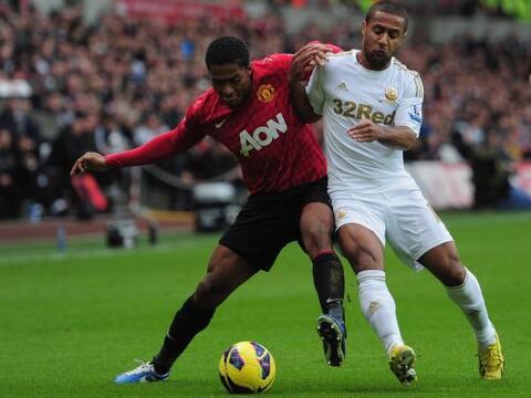 El partido entre el Swansea y el Manchester United era de los más...