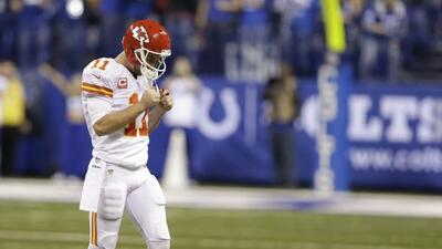 Alex Smith dio un gran partido pero no fue suficiente (AP-NFL).