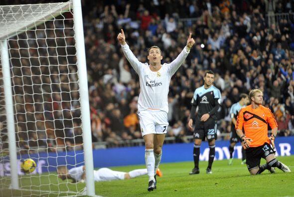 Cristiano Ronaldo, el gran líder del madridismo, se hacía presente.