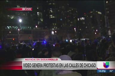 Masivas protestas en las calles de Chicago por asesinato de Laquan McDonald