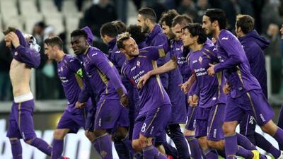 La 'Fiore' sacó una importante ventaja sobre Juventus.