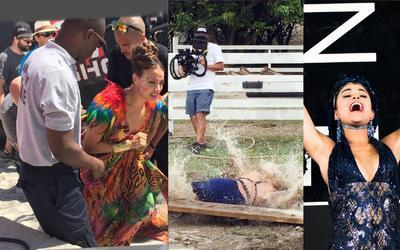 NBL Extremo: Catherine se cayó, Zoila se resbaló y pasarela vertical