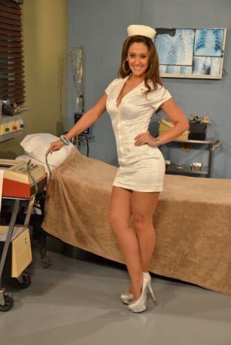 Y con una sonrisa como esa hace que los pacientes se sientan en el cielo.