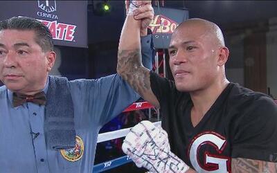 Gloferson Ortizo logró la victoria sobre Danny Ruíz por decisión unánime