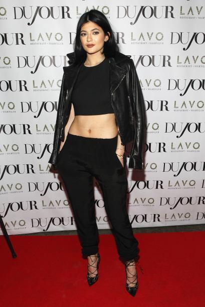 Y, como si bastara con verla en 'Kepping Up With The Kardashians', Kylie...