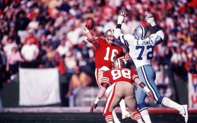 Joe Montana pudo ser el QB de los Cowboys en los años 80.