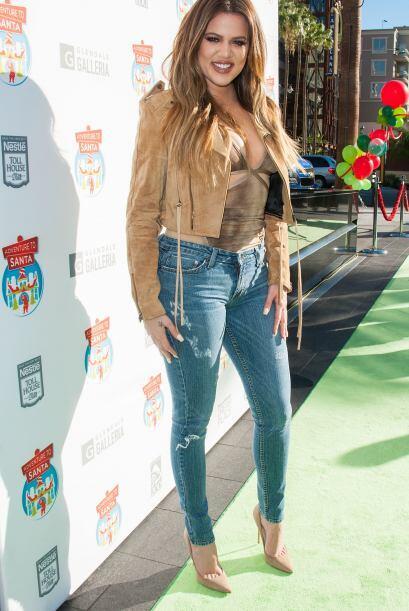 Tal parece que la guapa Khloe Kardashian aprovechó un evento en e...