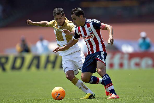 Pumas, Querétaro, Leones Negros y Chivas, este último por su condición d...