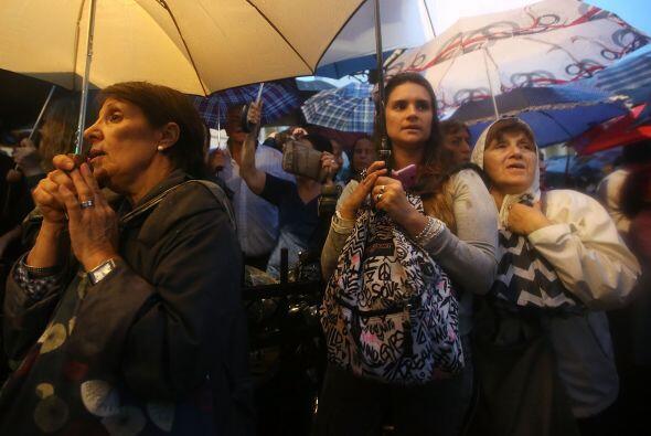 """Desde la cabecera de la manifestación se pidió """"una desconcentración de..."""