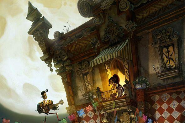 Inspirada en el Día de los Muertos y ópera prima del director Jorge Guti...