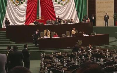 Congreso mexicano se encuentra dividido