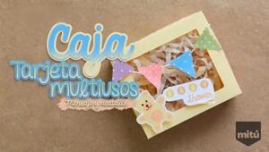 Caja-tarjeta multiusos : Craftingeek