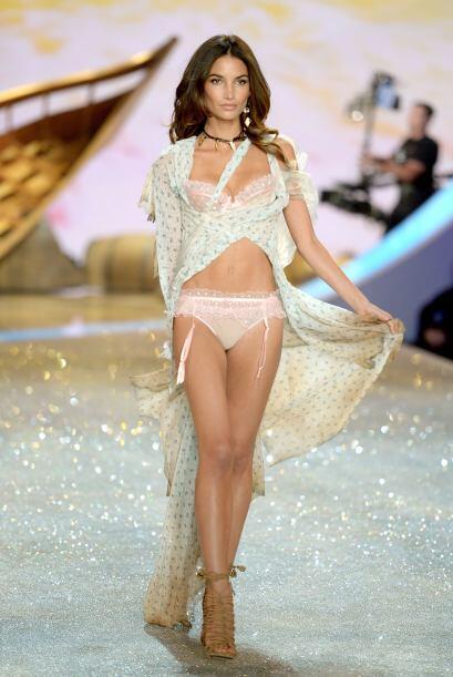 Aldridge se convirtió en ángel de Victoria's Secret en 2009.