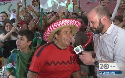 ¡Si se pudo! Chicago celebra victoria de México vs Croacia