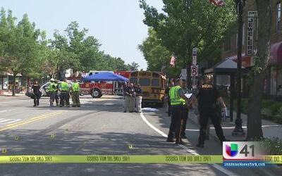 Autobús atropelló y arrastró a una mujer que murió varias cuadras