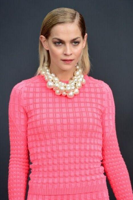 Sabemos que las perlas nunca pasan de moda, por eso conseguir un 'statem...
