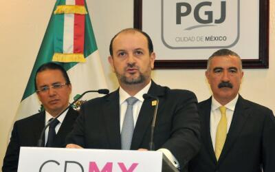 Rodolfo Ríos Garza, el titular de la fiscalía de la Ciudad...