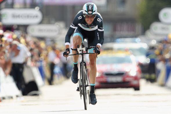 Frank Schleck también tuvo oportunidad de colocarse líder del Tour de Fr...