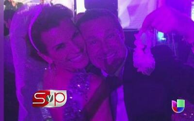 ¿A qué famoso le tocó la liga en la boda de Ana Patricia?