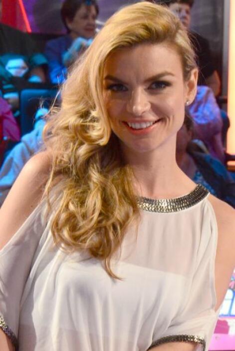 Tatiana Rodríguez, espléndida y agraciando el show con su belleza.