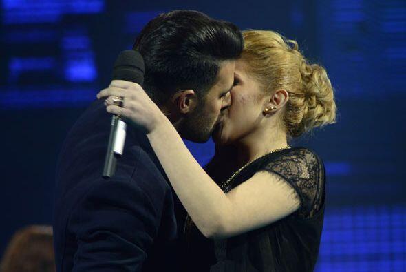 ¡Qué beso!