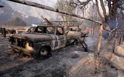 Tras las huellas de 'Sand', el devastador incendio de Los Ángeles