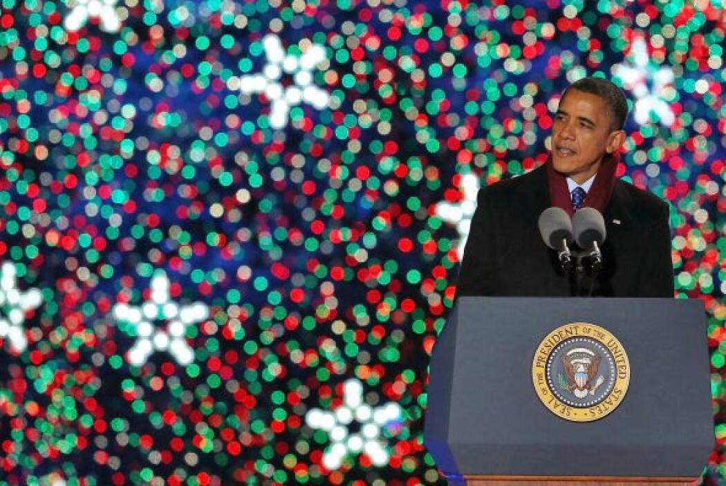 """""""Hemos encendido el árbol de Navidad por 90 años ahora, en tiempos de gu..."""