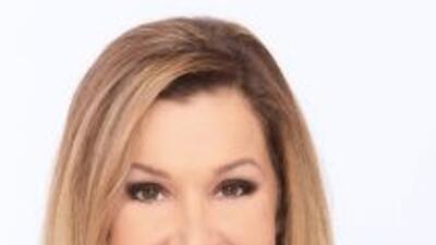 La periodista Sandra Peebles