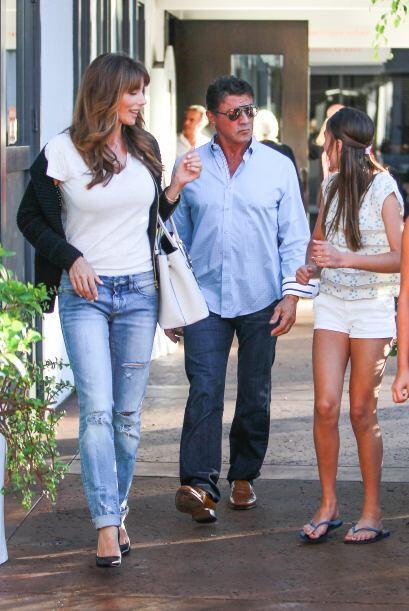 Las hijas sacaron la belleza de su madre, la modelo y empresaria Jennife...