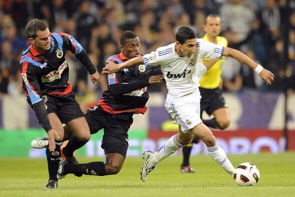 Angel Di María sigue cumpliendo y Mourinho está muy contento con la labo...