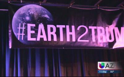 Movimiento ambientalista se opone a los planes de Donald Trump en la fro...
