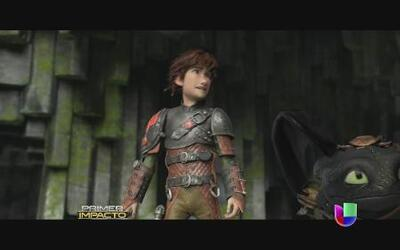 'How to train your dragon 2' en estrenos de película