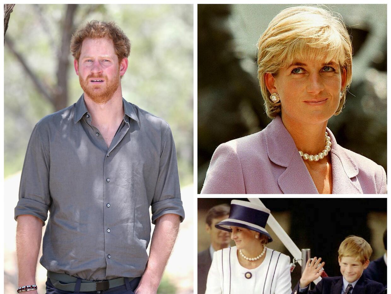 El Príncipe Harry tenía solo 12 años cuando muri&oa...