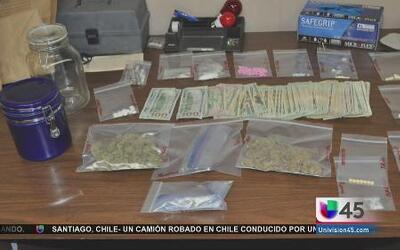 Duro golpe contra la venta de drogas en Montgomery