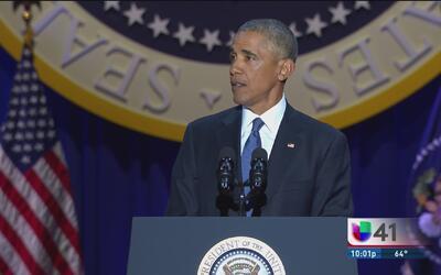 Las claves del discurso de despedida del presidente Obama