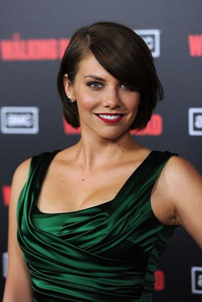 Lauren Cohan da vida a Maggie, la hija de Hershel y novia de Glenn. Come...