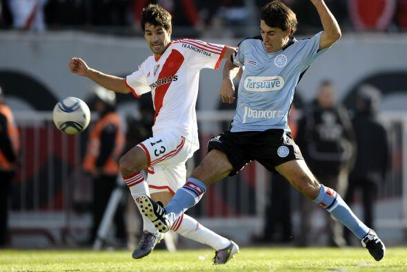 Si bien River jugó al ataque y mereció la victoria, Belgrano lo sorprend...