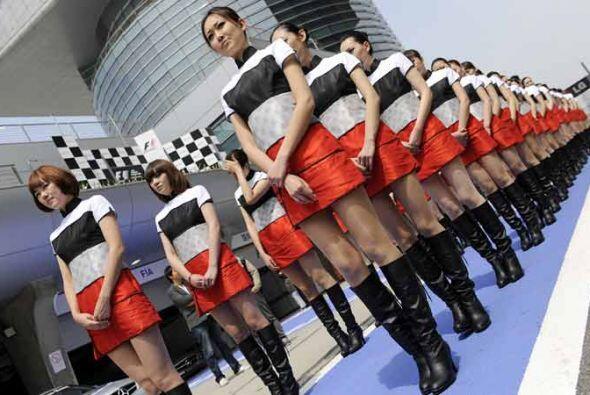 China presentó lo mejor de su imagen para el Gran Premio de F&oac...